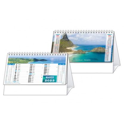 Calendario da tavolo illustrato mari C6451