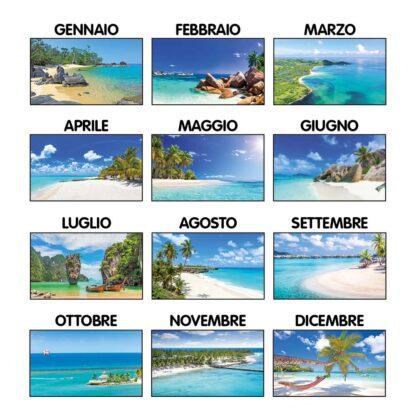 Calendario da tavolo mari C6451