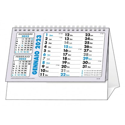 Calendario da tavolo personalizzato per aziende C6751B