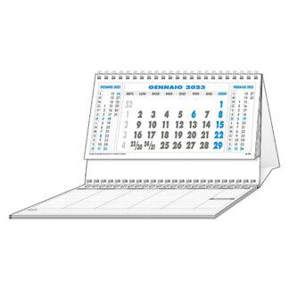 Calendario da tavolo personalizzato con blocco appunti C6951F