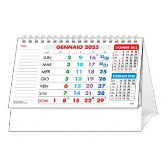 Calendario da tavolo personalizzato multicolor C6251