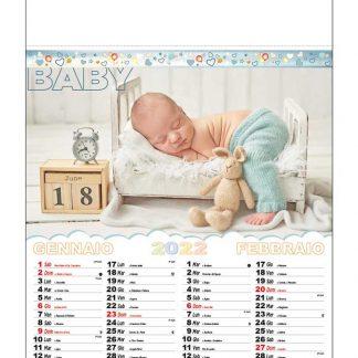 Calendario illustrato bambini D5890