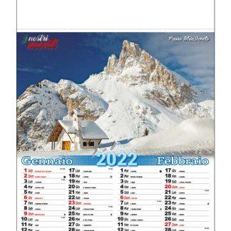 Calendario illustrato i nostri monti