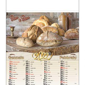 Calendario illustrato pane D5190