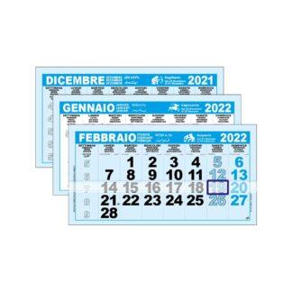 Mensili per calendario trittico C3605