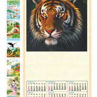 Calendario cinese 10 soggetti assortiti